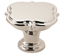 Amerock Grace Revitalize 1 3/4 Inch Cabinet Knob - Polished Nickel