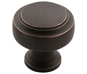 Amerock Highland Ridge 1 3/16 Inch Cabinet Knob - Dark Oiled Bronze