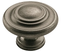 Amerock Inspirations 1 3/4 Inch Cabinet Knob - Weathered Nickel