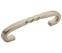 Amerock Inspirations 3 3/4 Inch CC Cabinet Pull - Satin Nickel