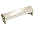 Amerock 3 Inch CC Manor Cup Pull - Polished Nickel
