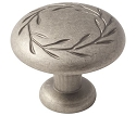 Amerock Nature's Splendor 1 3/4 Inch Cabinet Knob - Weathered Nickel
