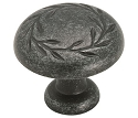 Amerock 1 5/16 Inch Wrought Iron Dark Nature's Splendor Cabinet Knob