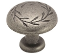 Amerock 1 5/16 Inch Weathered Nickel Nature's Splendor Cabinet Knob