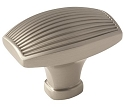 Amerock Sea Grass 1 1/2 Inch Cabinet Knob - Satin Nickel