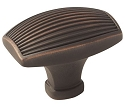 Amerock Sea Grass 1 1/2 Inch Cabinet Knob - Oil-Rubbed Bronze