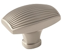Amerock Sea Grass 1 3/4 Inch Cabinet Knob - Satin Nickel