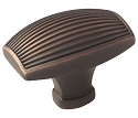 Amerock Sea Grass 1 3/4 Inch Cabinet Knob - Oil-Rubbed Bronze