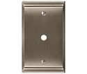 Amerock Candler Cable Wall Plate - Satin Nickel