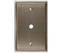 Amerock Mulholland Cable Wall Plate - Satin Nickel