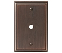 Amerock Mulholland Cable Wall Plate - Oil-Rubbed Bronze