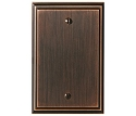 Amerock Mulholland Blank Wall Plate - Oil-Rubbed Bronze