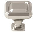 Amerock Wells 1 1/4 Inch  Cabinet Knob - Polished Nickel