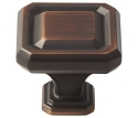 Amerock Wells 1 1/2 Inch  Cabinet Knob - Oil-Rubbed Bronze