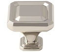 Amerock Wells 1 1/2 Inch  Cabinet Knob - Polished Nickel