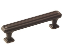 Amerock Wells 3 3/4 Inch CC Cabinet Pull - Oil-Rubbed Bronze