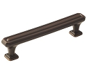 Amerock Wells 5 1/16 Inch CC Cabinet Pull - Oil-Rubbed Bronze