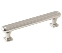 Amerock Wells 5 1/16 Inch CC Cabinet Pull - Polished Nickel