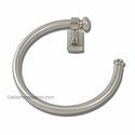 Atlas Homewares Legacy Bath Collection Towel Ring in Brushed Nickel