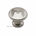 Atlas Homewares Ergo Collection Round Knob in Brushed Nickel