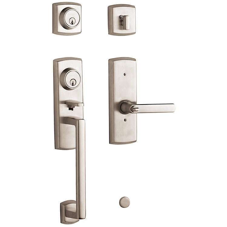 Baldwin Soho Two Point Lock Handleset 85385