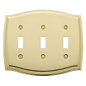 Baldwin 4780 Colonial Triple Toggle Cover - 5.125
