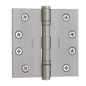 Baldwin Estate Series 4 Inch Ball Bearing Hinge with Square Corner