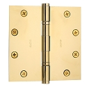 Baldwin Estate Series 5 Inch Ball Bearing Hinge with Square Corner