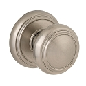 Baldwin Prestige Series Alcott Door Knob in Satin Nickel