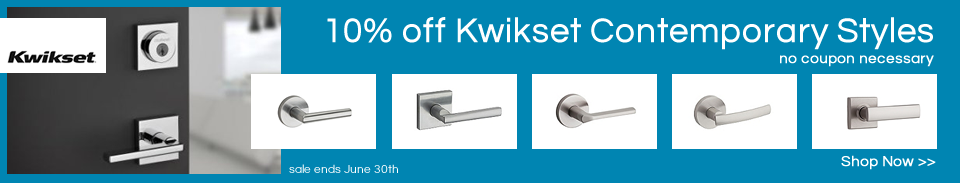 Kwikset Contemporary Sale