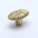 Berenson Atlantis Series 1-1/16 Inch Knob in Satin Brass
