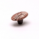 Berenson Atlantis Series 1-1/16 Inch Knob in Brushed Antique Copper