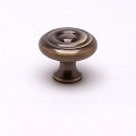 Berenson Newport Series 1-1/16 Inch Knob in Antique English Finish