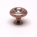 Berenson Newport Series 1-1/16 Inch Knob in Brushed Antique Copper