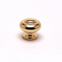 Berenson Plymouth Series 1 - 5/16 Inch Knob in Polished Brass