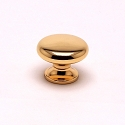 Berenson Valencia 1 Inch Knob in Polished Gold