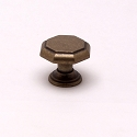 Berenson Euro Classica Series 1-1/8 Inch Knob in Dull Antique Brass