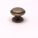 Berenson Euro Classica Series 1 - 1/8 Inch Knob in Dull Antiqued Brass