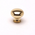 Berenson Plymouth Series 1 - 3/32 Inch Knob in Polished Brass