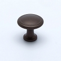 Berenson Adiago Series 1 Inch Knob in Oil Rubbed Bronze