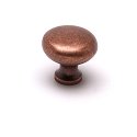 Berenson American Classics Series  1 - 1/16 Inch Knob in Weathered Copper