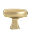 Berenson Subtle Surge Classic Comfort Zinc Knob in Brushed Gold