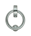 Beslagsboden Design Finnish Ring Door Knocker - Brushed Chrome