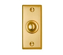 Beslagsboden Doorbell Push and Cover - Brushed Brass