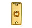 Beslagsboden Doorbell Push and Cover - Polished Brass (PVD)