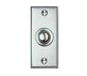Beslagsboden Doorbell Push and Cover - Brushed Chrome