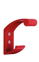 Beslagsboden Design ALU Colour Coat and Hat Hook - Red Brushed Aluminum