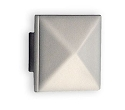 Beslagsboden Design Modern Pyramid Knob - Brushed Nickel
