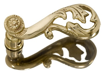 Brass Accents Champagne Lever