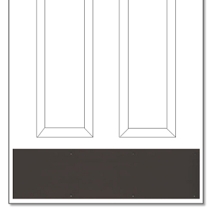 Dark Bronze/Oil Rubbed Bronze Kickplate  sc 1 st  Direct Door Hardware & Dark Bronze or Oil Rubbed Bronze Kickplate